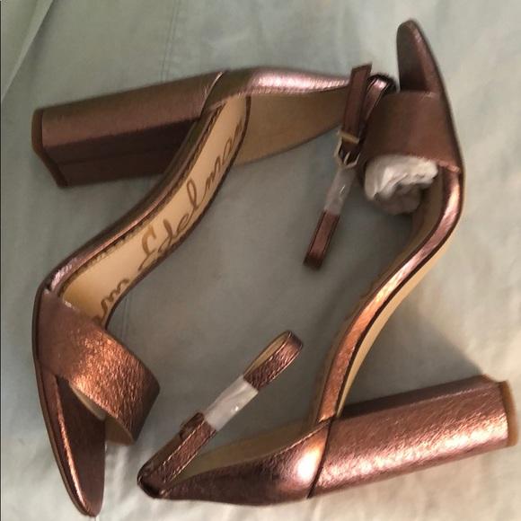 Sam Edelman Shoes - NWT Rose Gold/Pink Sam Edelman Sandals